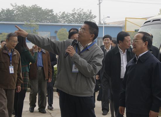中共江西省委副书记省长鹿心社莅临我院视察调研